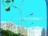 中山光照智能供应 静电喷塑处理 带不锈钢搭扣 高杆灯道路灯