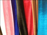 高品质绒布 高档金丝绒 针织韩国面料 韩国绒 经编不倒绒