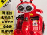 新款儿童电动车摩托车双驱宝宝可坐遥控车三轮电瓶车室内玩具童车