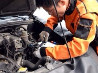 北京24小时汽车救援,上门修车,搭电送油,换电瓶