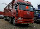 解放前四后八9,6米货车出售,可以按揭贷款,首付六万即可1年6万公里16.8万