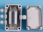 供应一进三出接线盒 室外监控电源接线盒 ABS防水接线盒