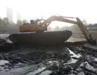 鄂尔多斯水陆挖掘机出租沼泽地挖掘机出租服务性能先进