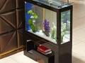 复古式烤漆玻璃鱼缸 花架鱼缸 什么样的鱼缸不漏水?