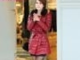 8670# 韩版修身加厚棉衣外套毛领大码女装pu皮中长款棉服棉袄