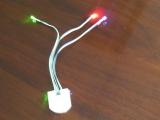 泉州三宝电子有限公司供应LED鞋灯,有线