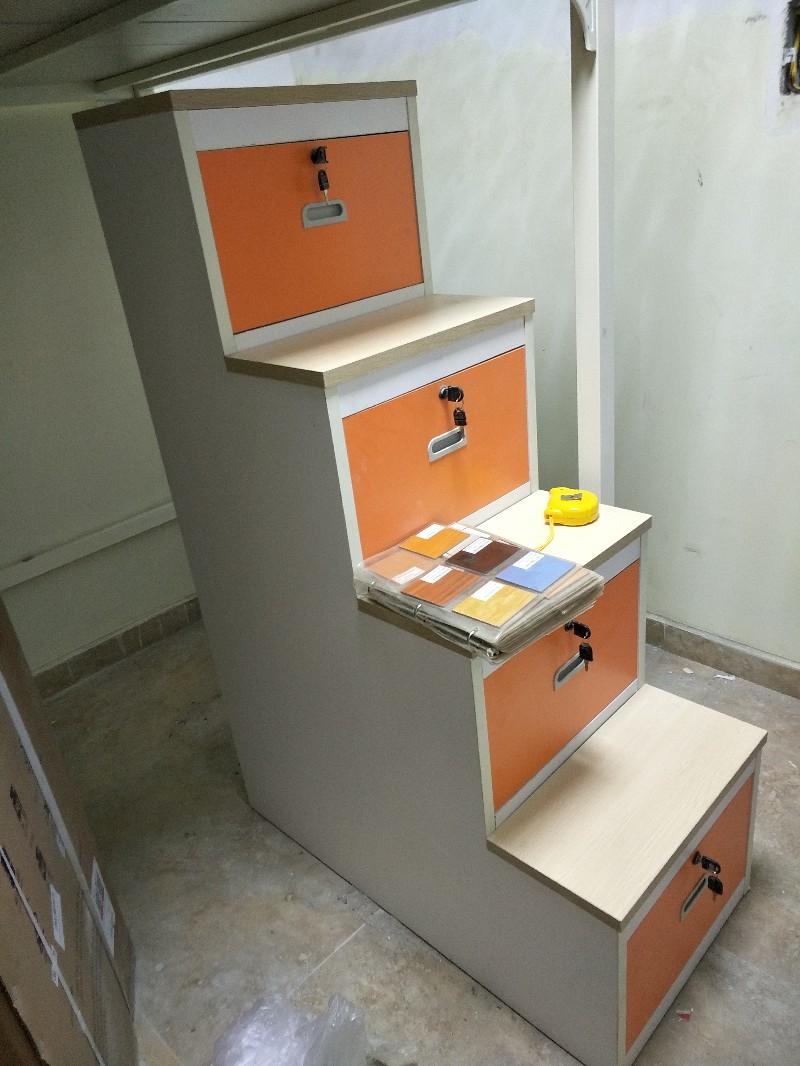 博罗家具定制各类板式家具文件柜衣柜办公台卡位职员办公桌