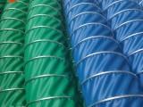 三防布通風管工業伸縮排風軟管阻燃耐高溫帆布管排煙管批發零售