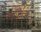 银川艺术手绘画画彩色绘画画图工程