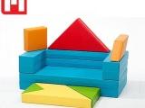 【非凡淘】 儿童益智七巧板积木沙发