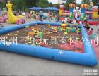 供应儿童充气海洋球沙滩池水池,公园摆放充气沙滩池多少钱