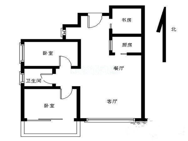 凤凰世纪 3房出租 家私齐全 3300元凤凰名苑