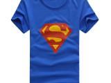 超市夏季新款男装 男式短袖t恤 莱卡t恤 半袖 男 韩版修身大码