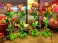 赤峰孩子百天气球布置