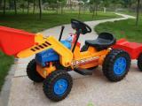 厂家直销动挖土机 大型挖机玩具车脚踏车电