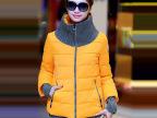 2014冬季女装新款韩版高领羽绒棉服短款时尚潮防风保暖加厚外套