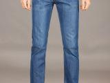牛仔裤男 修身直筒 浅色 薄软 男式夏季长裤 厂家直销批发628