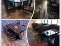 泉州咖啡厅桌椅甜品店桌椅奶茶店桌椅火锅店桌椅组合
