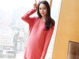 新款孕妇装连衣裙 韩版 秋装长袖 大码时尚孕妇裙批发妈妈装