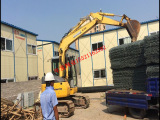 供应10铝锌铝合金覆塑pvc石笼网【广州政府工程采购指定厂家】