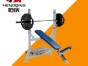 重庆市永川区商用健身器材健身房力量器械悍马系列上斜推胸训练器