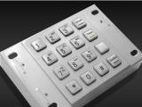 银联认证金属加密键盘优选凯明杨金属加密密码键盘KMY3503A-