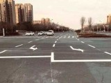 南京道路标线,南京达尊道路划线功能左转弯导向线