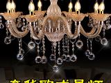 欧式客厅水晶吊灯 奢华大气餐厅灯时尚餐吊灯具别墅卧室艺术灯饰