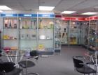 专业供应唐山精品钛合金展示柜公司展厅展示柜保健品展示柜柜台