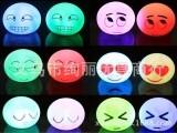 新奇特玩具 创意表情LED小夜灯赠品 礼品地摊热销