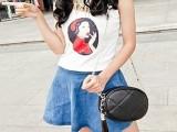 迷你时尚菱格链条小包2014新款韩版小香风潮流流苏女包单间斜跨包