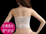 2014 加大码抹胸文胸 蕾丝裹胸 有长款黑色 白色围胸 好质量