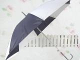 厂家定做可印制logo 直杆八片防雨绸蓝