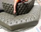 深圳旧沙发如何翻新过程
