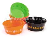 【厂家直销】外销欧洲优质圆形多功能食品级精美塑料鬼节碗