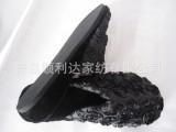 压花类黑色动感拖鞋 eva鞋底 加工各种类型室内拖鞋。