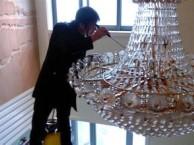 徐汇区湖南路保洁公司 专业各款水晶灯清洗 地毯清洗 擦玻璃