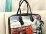 2013新款女包 汽车喷绘图案 大包包 单肩包 斜挎包 手提包女