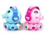 供应儿童上链发条旋转章鱼玩具 一件代发夜市塑料小玩具