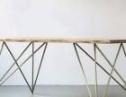 餐桌 工业风实木餐桌 优惠出