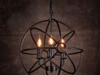loft美式乡村铁艺吊灯工业古典工程怀旧客厅吊灯卧室餐厅装饰吊灯