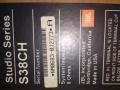美国原产JBL三分频音箱s38ch一对