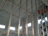纤维水泥复合钢板防爆墙施工
