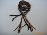 供应新款的饰品手工编织带/腰带(图)