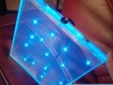 发光玻璃--内镶LED灯珠玻璃