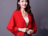 厂家直销新款韩版针织衫开衫修身中长款休闲毛衣外套时尚女装薄款