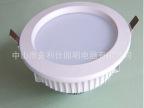 新款LED筒灯外壳 压铸LED贴片筒灯外壳 6寸筒灯套件 室内商业照明