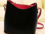 仿大牌Fiye plus包包专柜品质2014新款女包马卡龙色撞色
