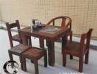 老船木实木家具厂家促销博古架功夫茶台简约阳台小茶桌