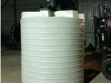 厂家直供2吨带搅拌塑料桶2立方塑料加药箱2000升PE搅拌罐